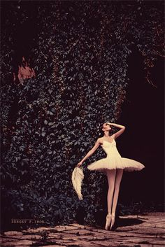 ...when I grow up I want to be a Ballerina