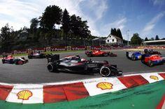 Jenson Button - Mclaren MP4-30 Honda - Belgian GP 2015