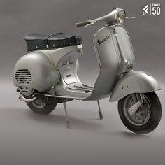 Il 23 aprile 1946 veniva brevettata la #Vespa, icona del #design italiano. La Vespa fa parte della collezione permanente del Triennale Design Museum di Milano e del MoMA di New York.
