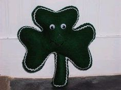 Stuffed Shamrock | AllFreeSewing.com
