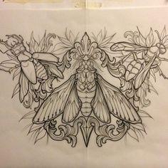 Done by Francesca Dugoni, tattoo artist at Woland Tattoo & Piercing Studio…