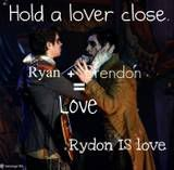 hot brendon urie and ryan ross. Rydon.OTP!!!!