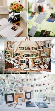 28 Creative Guestbooks Ideas - Photo Ideas