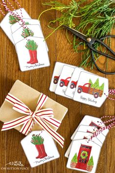 free printable christmas gift tags on sutton place