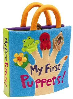 Amazon.com: Folkmanis Soft Book - My First Puppets: Toys & Games