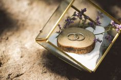 ラスティックウェディング_ナチュラルウェディング_おしゃれ_結婚式 Ring Pillow Wedding, Wedding Ring Box, Tree Wedding, Ring Pillows, Glass Terrarium, Wedding Accessories, Wedding Details, Wedding Inspiration, Wedding Ideas