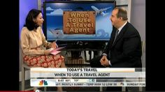 When to use a Travel Agent. Virtuoso CEO on the Today Show.