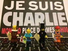 La créativité face au terrorisme #Lego #JeSuisCharlie