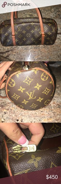 Authentic Louis Vuitton bag Great condition some scratches on the inside and some pen markings but still great condition on the outside.. guaranteed authentic… Can raise the price up to 500 so that way you can get it  authenticated from Poshmark if you want Louis Vuitton Bags