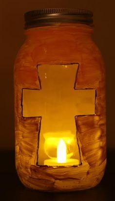 God references light throughout the Bible. And in the New Testament, we are introduced to Jesus, The Light of the World. It's an easy concept for kids to grasp, and even easier to demonstrate. It's a powerful lesson they will remember for the rest of their lives. Here's a simple craft you can use at Halloween, or anytime, to help children see the light of Jesus.