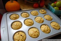 Farm Fresh Feasts: Up-To-Overnight Soaked Oat Whole Grain Farm Fresh Muffins