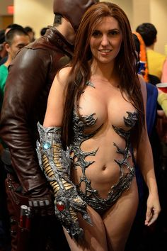 BRAVE soul to go as Witchblade..
