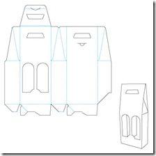 Afbeeldingsresultaat voor six pack beer packaging template Packaging Dielines, Bottle Packaging, Brand Packaging, Packaging Design, Paper Box Template, Cardboard Packaging, Creative Gift Wrapping, Paper Gift Box, Bottle Carrier
