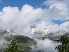 Among the Clouds, Switzerland.  by Shelly Norton