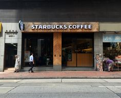 Starbucks at Sheung Wan, Hong Kong