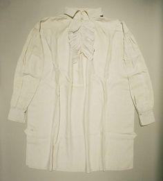 Shirt, 1830-40 Brittish