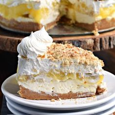 No Bake Banana Cream Cheesecake Recipe Desserts with pudding mix, milk, wafer cookies, unsalted butter, cream cheese, granulated sugar, heavy whipping cream, vanilla extract, cool whip, bananas, Nilla Wafers