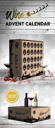 Diy Wine Advent Calendar : Wine advent calendar diy … pinteres…