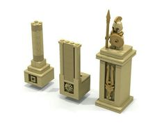 Lego collumns