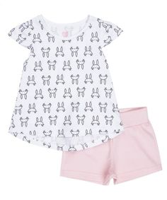 Conjunto-de-Blusa-Estampada-Off-White---Short-Rosa-Claro-8522651-Rosa_Claro_1