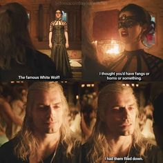 'Bottled Appetites' This entire scene had me laughing so hard. Poor Jaskier in the background sounding as if he's going into anaphylactic shock 😩😆 Series Movies, Movies And Tv Shows, Tv Series, The Witcher Series, Sword Of Destiny, The Big Band Theory, The Witcher Geralt, Yennefer Of Vengerberg, The Fault In Our Stars