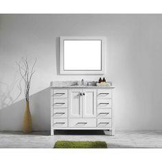 "Pichardo 42"" Single Bathroom Vanity Set"