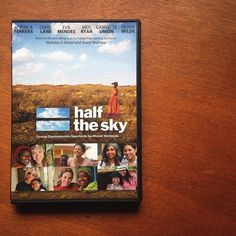 Our team is gathered together tonight to watch Half the Sky -- a documentary about the oppression of women and girls worldwide. #marketcolors