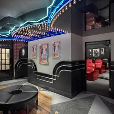 Residential Interiors - Traditional - Home Theater - other metro - by Maguire Photo Home Theater Rooms, Home Theater Design, Traditional Interior, Traditional House, Home Movies, Decorating Your Home, Home And Family, Art Deco, Indoor