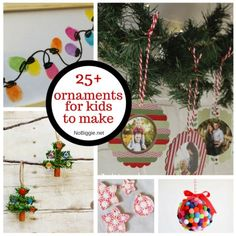 25+ ornaments for kids to make   NoBiggie.net