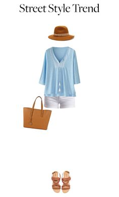 """""""Peasant Top"""" by mshatter ❤ liked on Polyvore featuring Pieces, Wrap, Michael Kors, Jigsaw and peasanttop"""