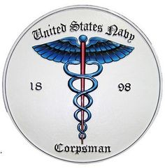 The Job my dad did in the Navy. US Navy Corpsman : The US Navy Corpsman main mission is to treat Naval officers. They go back from the very beginning of the Navy. It was only in June 1898 when the Hospital Corp was established. Army Medic, Combat Medic, Go Navy, Navy Man, Usmc, Marines, Naval Tattoos, Navy Corpsman, Navy Life