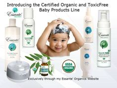 Our High Class #BabyProducts are Incredible! Laundry, Facials including the Hollywood Facelift, Toothpaste, Shampoo and the Sanitizer. We have Alkalizing Greens & Reds, #EssanteOrganics