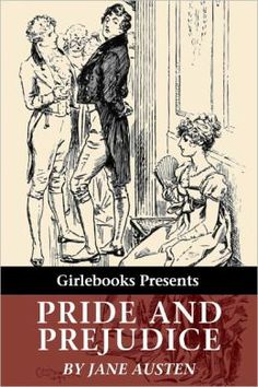 Pride and Prejudice by Jane Austen, Girlebooks Nook edition, 2011. Cover: illustration by C.E. Brock