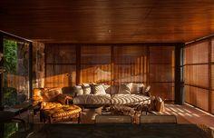 Harmonious Wooden Residence
