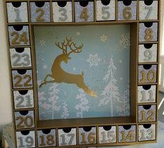 Christmas Advent Calendar by SmartArtbySusie on Etsy