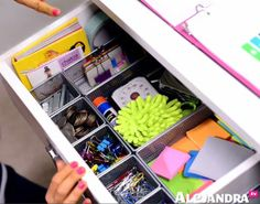 Video how to organize your desk part 2 of 9 home - Organizing desk drawers ...
