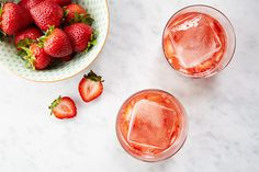 The Mosé  2 strawberries, hulled, sliced 1 teaspoon sugar 2 ounces tequila blanco 1 ounce fresh lemon juice 3/4 ounce dry rosé  Muddle strawberries and sugar in a cocktail shaker until lightly crushed. Add tequila, lemon juice, rosé, and a single large ice cube. Cover and shake until outside of the shaker is frosty, about 30 seconds. Pour drink with ice cube into a rocks glass (do not strain).