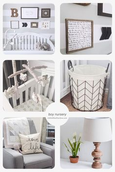 Get inspired with this modern nursery by @LittleMissFearless. She used cool vinyl wall stripes called Easy Stripes by @wallsneedlove. All you have to do is peel and stick. No more painting!