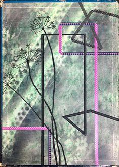 Botanical, geometrie, tape