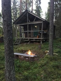 Hunting cabin in Sävast, north Sweden — one hour south of the...