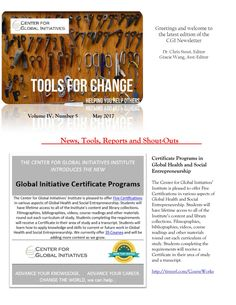 2017 May Tools for Change CGI Newsletter