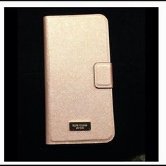 Kate Spade iPhone case 6 plus and 6s plus Kate Spade hard to find phone case for iPhone 6 plus and 6s plus.  This is the Rose Gold finish that keeps selling out in stores. Brand new in original box. kate spade Accessories Phone Cases