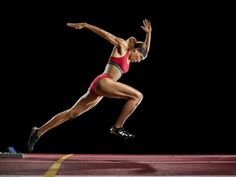 Behind the TIME Covers: Martin Schoeller's Portraits of the 2012 U.S. Olympians -- Track and Field athlete Lolo Jones trains for the London Games in Baton Rouge, LA