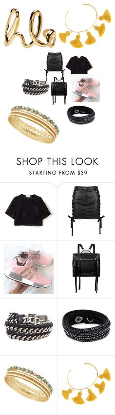 """""""Untitled #9357"""" by lover5sos ❤ liked on Polyvore featuring Versus, McQ by Alexander McQueen, Chanel, Swarovski, Lucky Brand, Marte Frisnes and Chloé"""