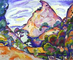 Georges Braque - Gray weather in cove 1907
