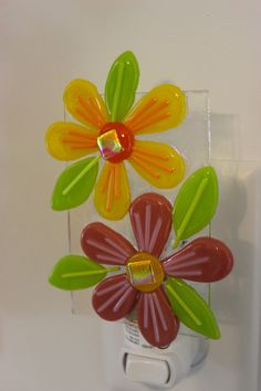 Flower Night Light by BFisherCreations on Etsy