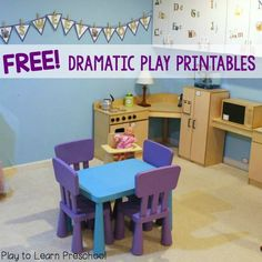 Dramatic Play Kitchen                                                                                                                                                     More