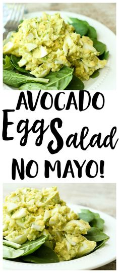 Avocado Egg Salad Recipe | no mayo | lunch recipe | gluten-free recipe | Paleo recipe | Whole30 recipe | low carb recipe