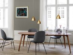 GUBI DINING TABLE ELLIPSE