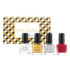 nc Nail Luxe Lacquer Set 4 x 5ml Just $19.90, Save $12.10